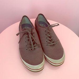 Clarks Gray and Beige Sneaker